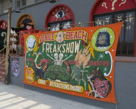 freak show, venice beach