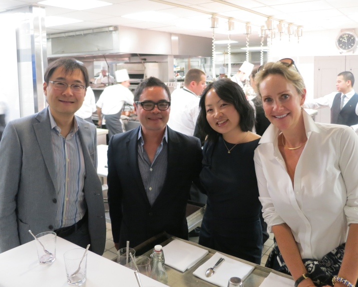 in the kitchen at eleven madison park with vincent yeh, wilson lam and jinny lam
