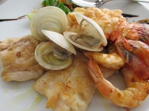 seafood platter at miamar