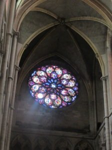 rose window of the cathedral