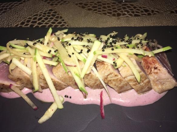 the amazing tuna tataki