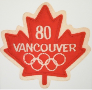 badge for the 1980 olympic bid