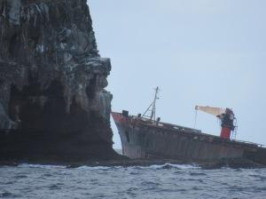 a modern shipwreck