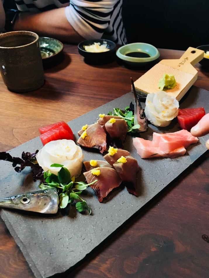 amazing sashimi platter