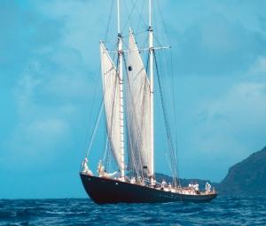 ruth, steel schooner, 100'. 2013