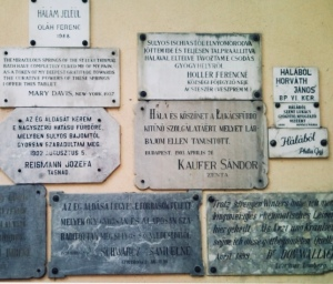thank you tablets at the lukács baths