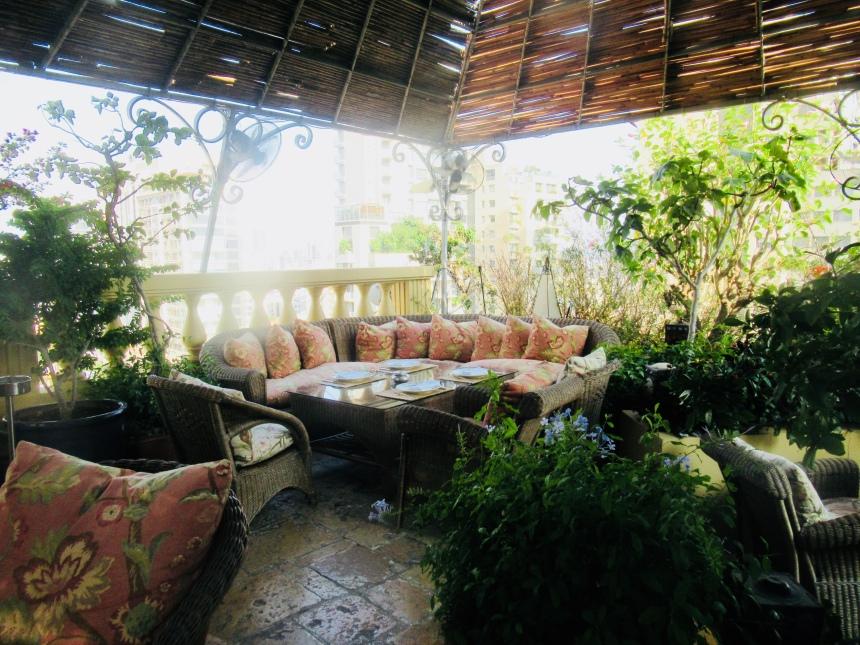 a perfect escape: the veranda at the albergo