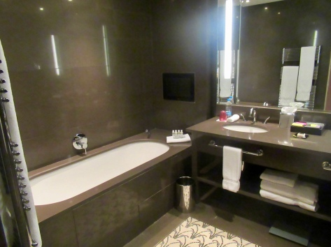 tv and tub