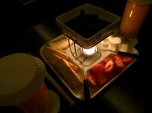 post massage fondue. divine