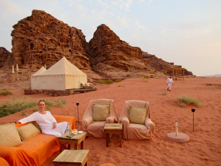 discovery bedu tented camp, jordan