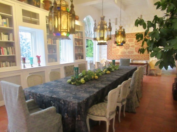 the original dining room
