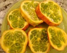 great fresh fruit at breakfast