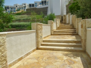steps from the beach