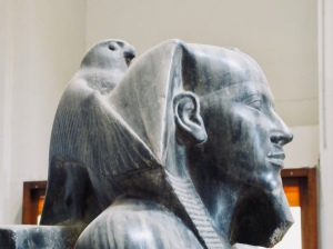 osiris protecting the pharaoh
