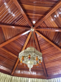 a beautiful ceiling