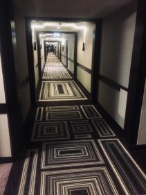 funky hallway