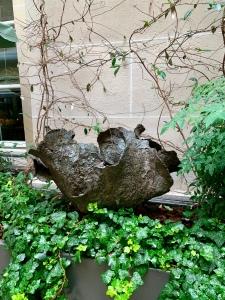 marie khouri fountain at the crillon hotel paris