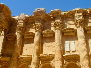 inside the temple of bacchus