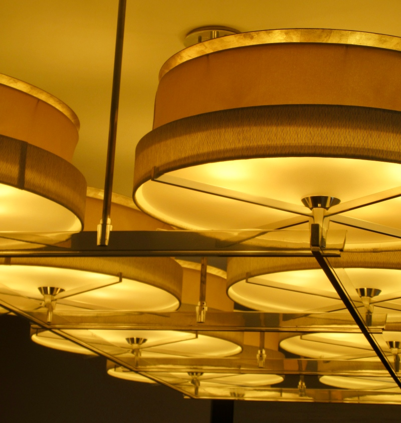 great lighting at the park hyatt chicago