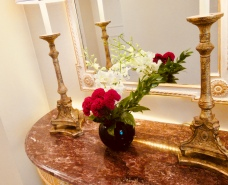 beautiful touches in the room