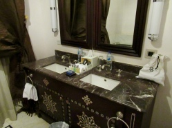 marble bathroom