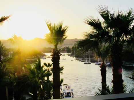 view over the nile