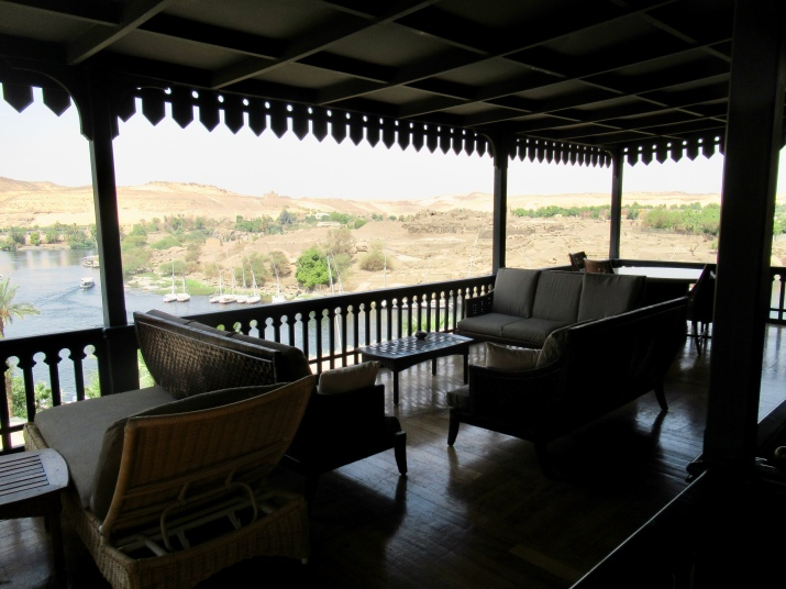 the balcony of the churchill suite
