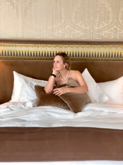 one of the best beds...La Reserve, Paris