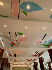 ceiling art...art its everywhere