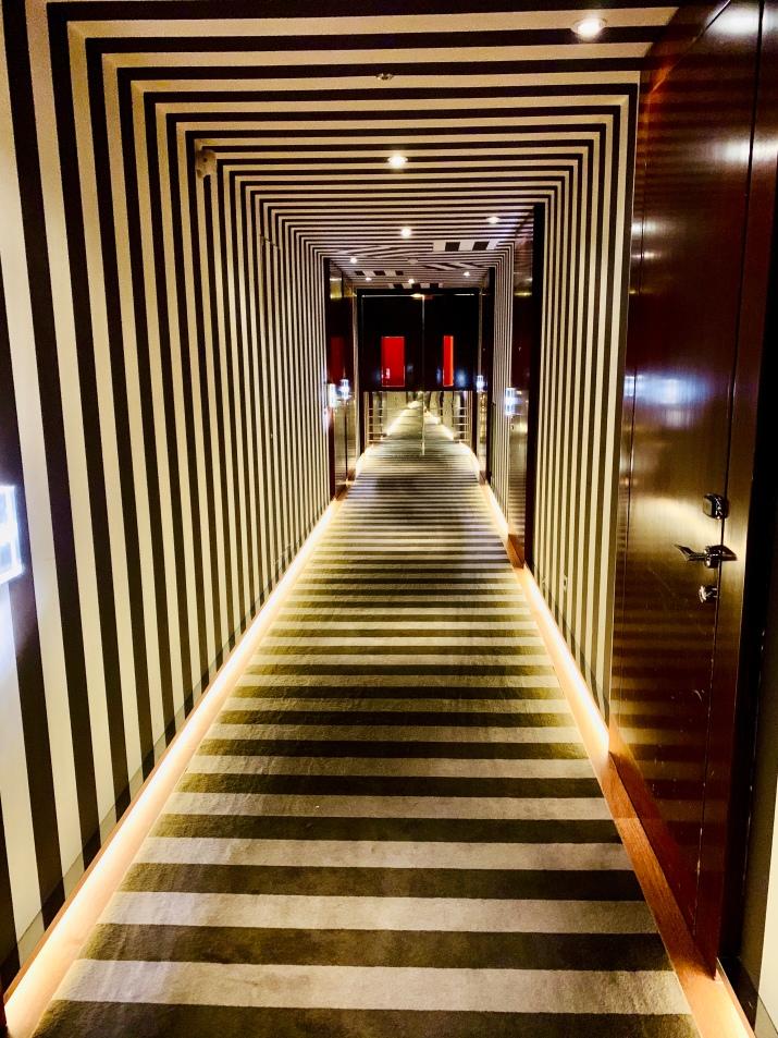 the amazing hallway to my room