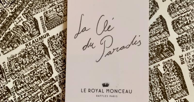 great design everywhere at le royal monceau