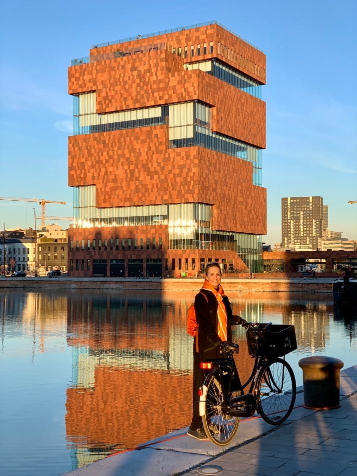 biking at the MAS Museum