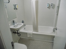 small well equipped bathrooms