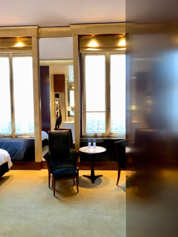 my room at the Park Hyatt Vendome Paris