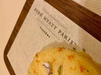 park hyatt paris treats