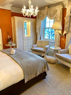 my beautiful room at The Goring