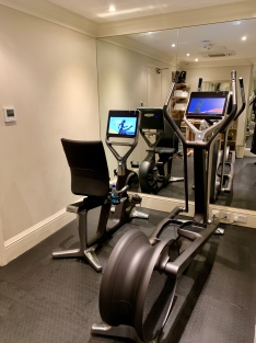 the gym at The Goring