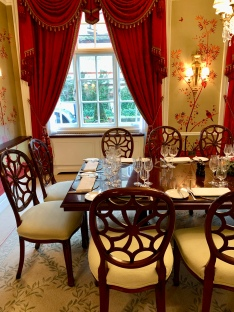 private dining at The Goring