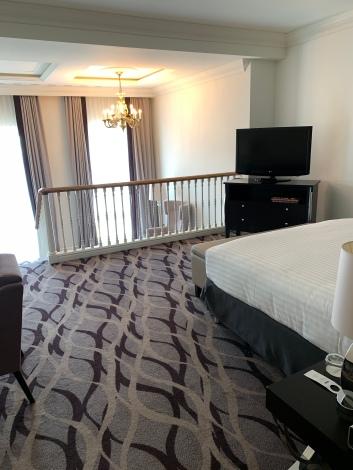 a duplex room