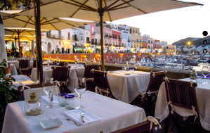 the view from Acqua Pazza