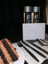 delicious cake and a warm welcome from the Bisha