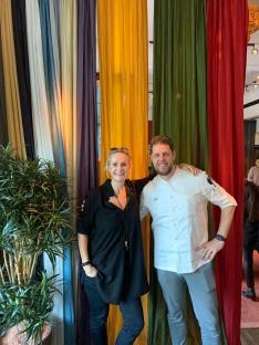 me and super chef Philipp Vogel