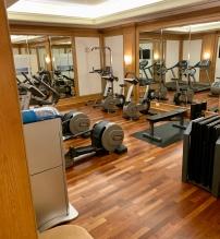 the gym, Regent Berlin