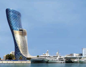 Capital Gate, image courtesy of Dept of Culture & Tourism, Abu Dhabi