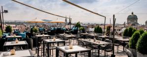 The Roof Terrace, Hotel Schweizerhof, Bern