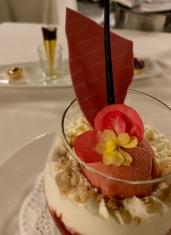 the Coppa Volare Dessert at Villa Principe Leopoldo