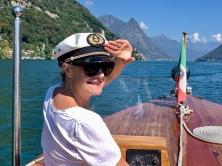 boat trip organized by Villa Principe Leopoldo