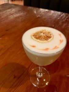 tequila sour, The Four Seasons Resort & Residences, Whistler